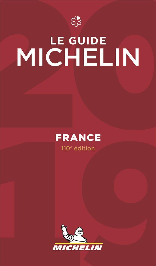 FRANCE - LE GUIDE MICHELIN 2019