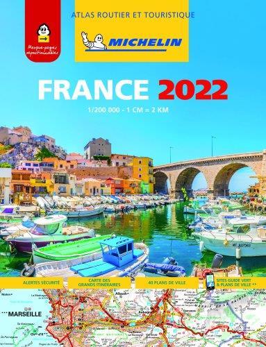 ATLAS ROUTIER FRANCE 2022 (A4-SPIRALE)