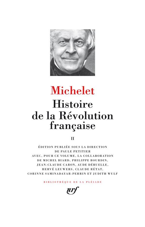 HISTOIRE DE LA REVOLUTION FRANCAISE (TOME 2)
