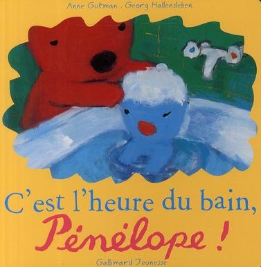 C'EST L'HEURE DU BAIN, PENELOPE !