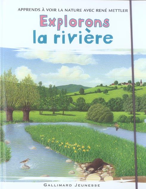 EXPLORONS LA RIVIERE