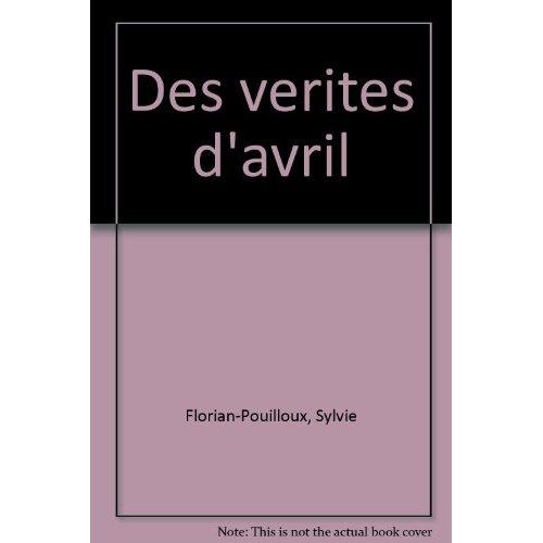 DES VERITES D'AVRIL