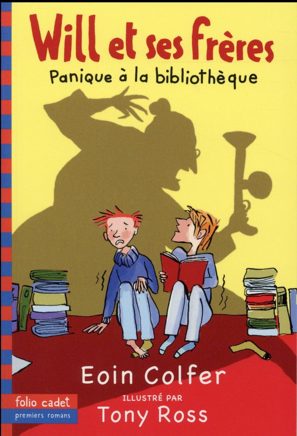 WILL ET SES FRERES, 1 : PANIQUE A LA BIBLIOTHEQUE