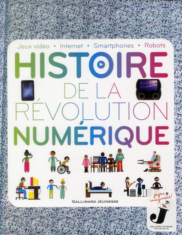 HISTOIRE DE LA REVOLUTION NUMERIQUE - JEUX VIDEO - INTERNET - SMARTPHONES - ROBOTS