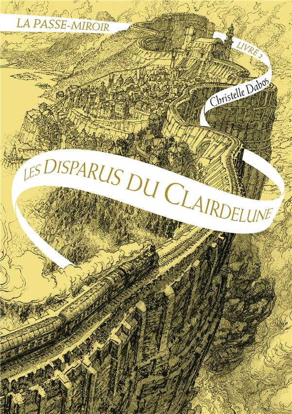 GRAND FORMAT LITTERATURE - ROMANS ADO - LA PASSE-MIROIR (TOME 2-LES DISPARUS DU CLAIRDELUNE)