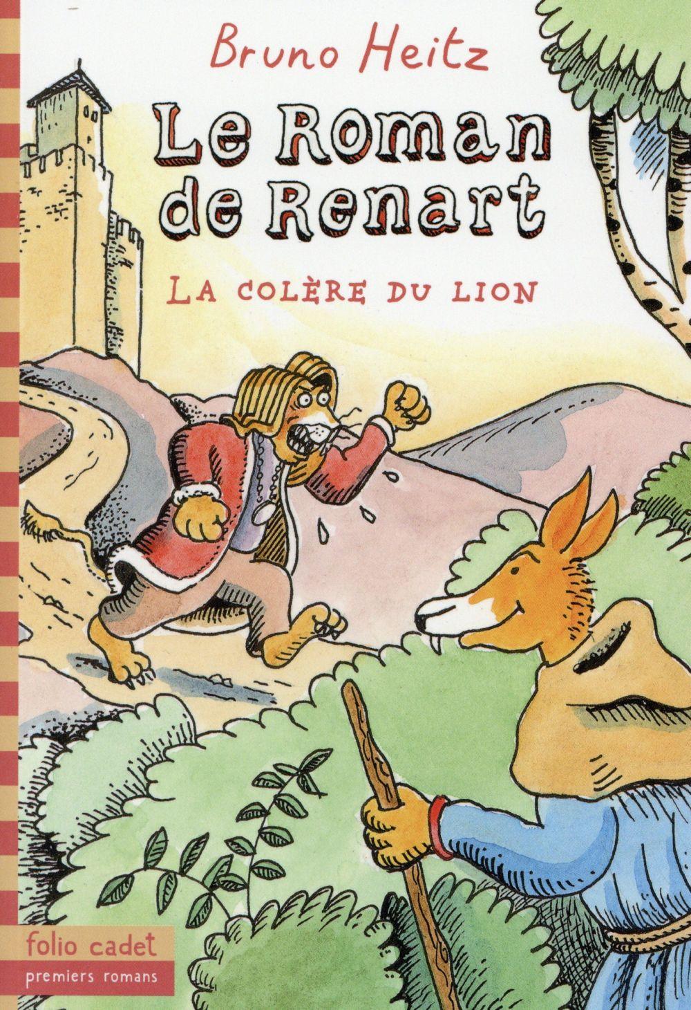 LE ROMAN DE RENART - LA COLERE DU LION