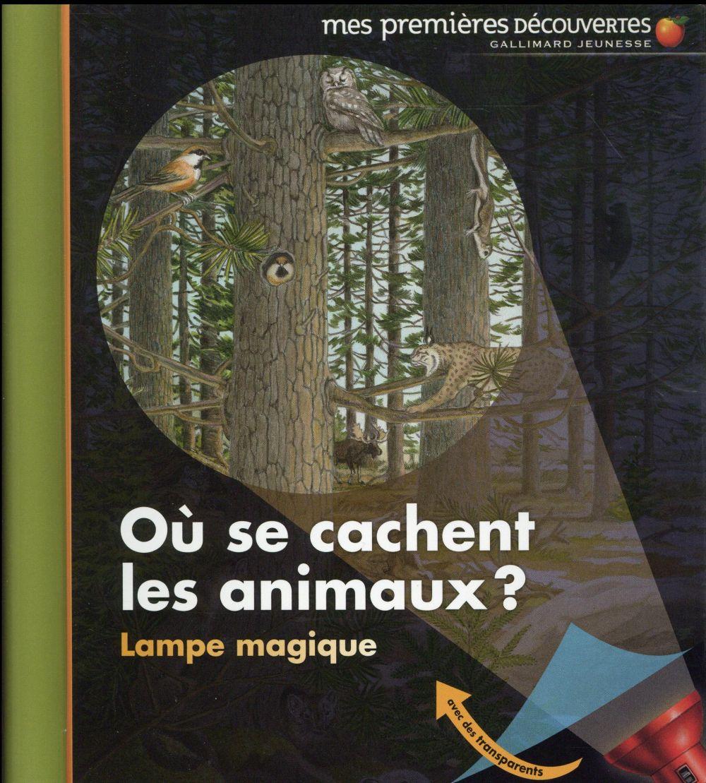 LAMPE MAGIQUE - T34 - OU SE CACHENT LES ANIMAUX ?