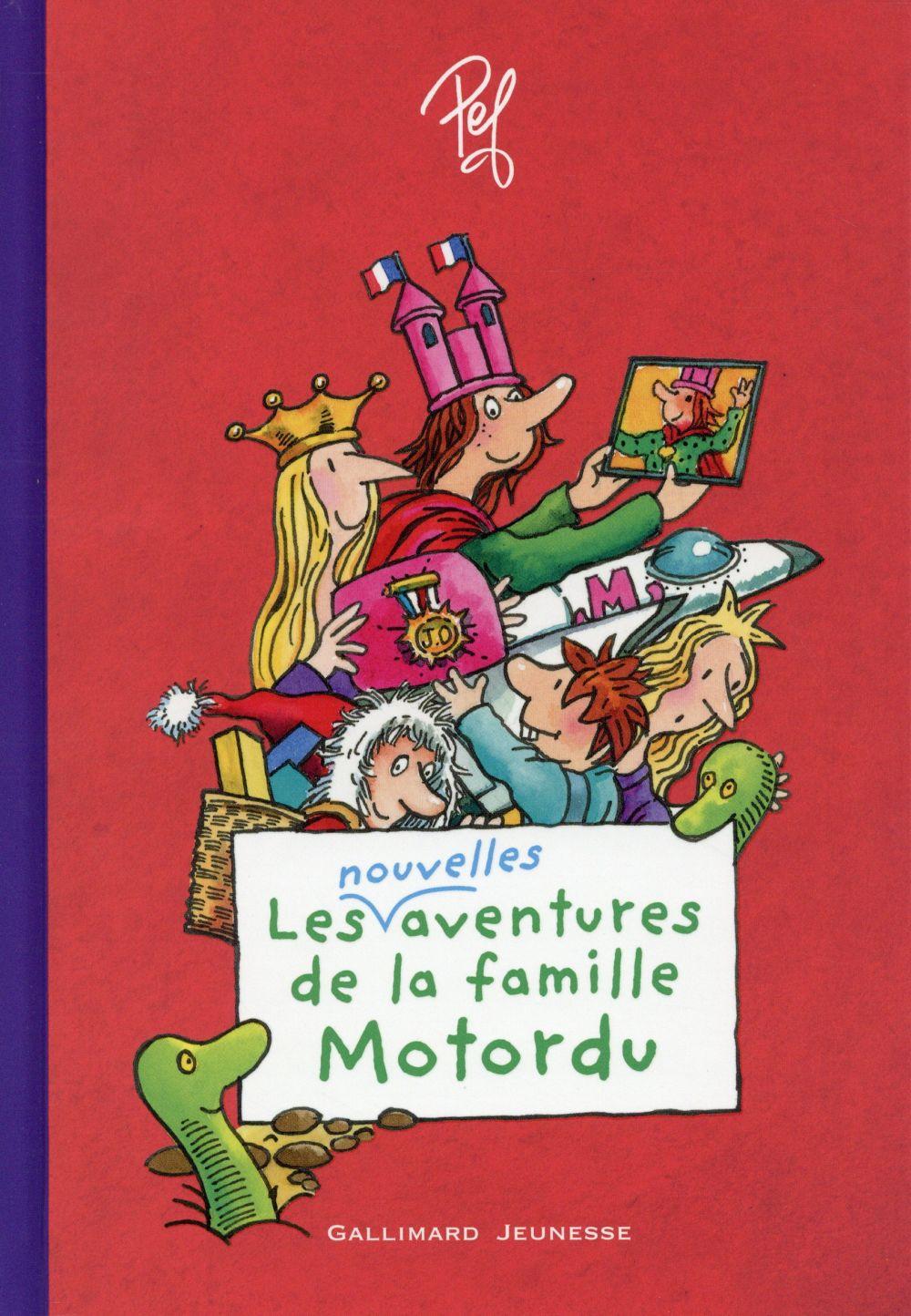 LES AVENTURES DE LA FAMILLE MOTORDU (TOME 2)