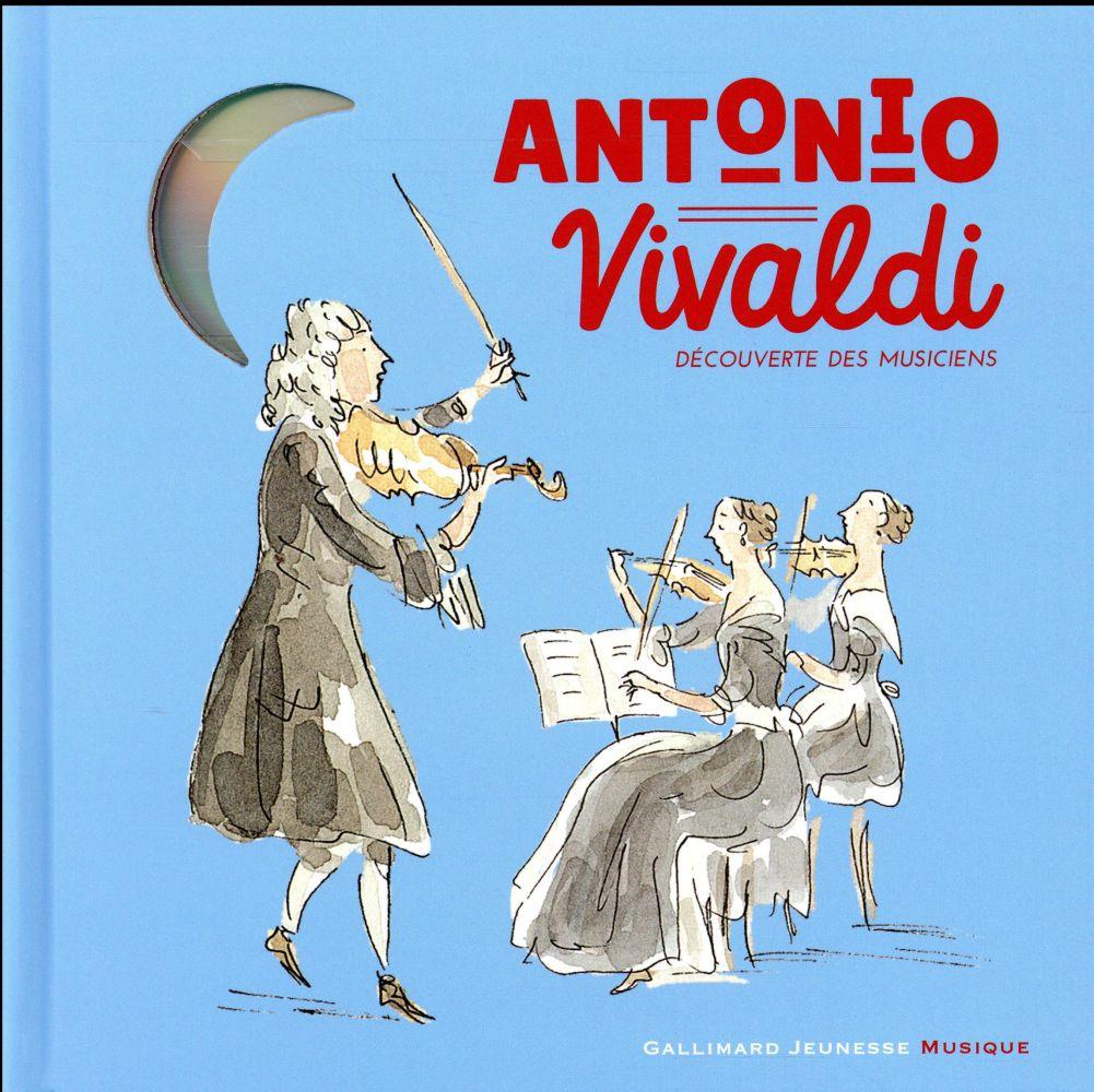 ANTONIO VIVALDI LIVRE-CD