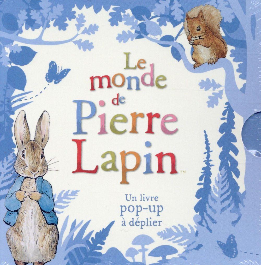 LE MONDE DE PIERRE LAPIN - UN LIVRE POP-UP A DEPLIER