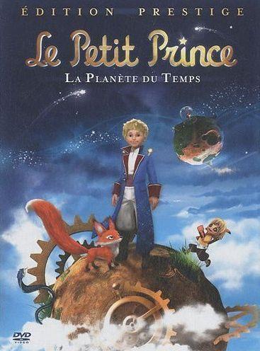 LE PETIT PRINCE - LA PLANETE DU TEMPS LIVRE-DVD