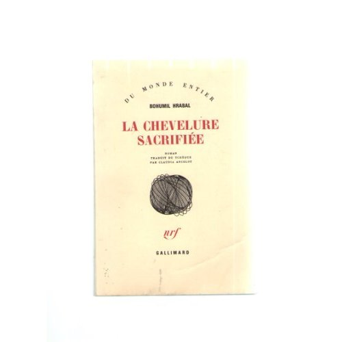LA CHEVELURE SACRIFIEE ROMAN