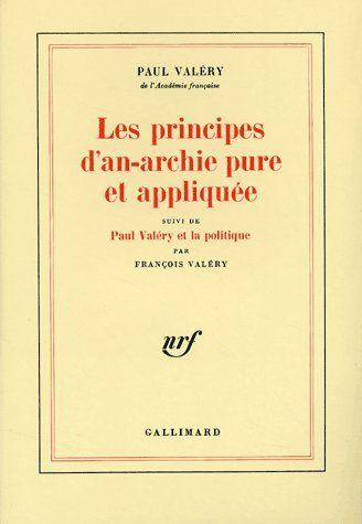 LES PRINCIPES D'AN-ARCHIE PURE ET APPLIQUEE