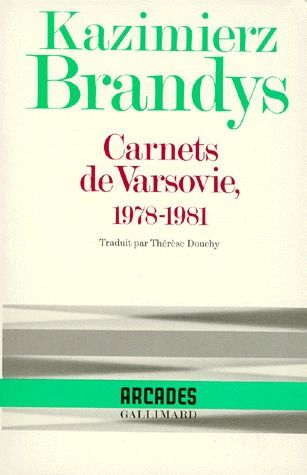 CARNETS DE VARSOVIE - (1978-1981)