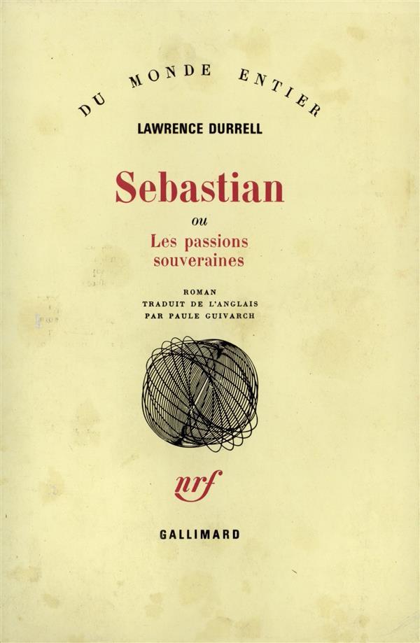 SEBASTIAN OU LES PASSIONS SOUVERAINES