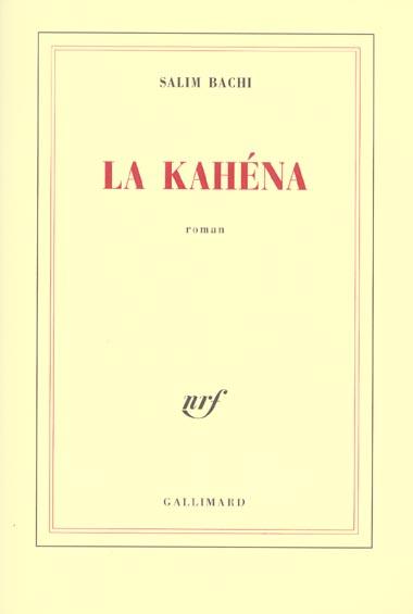 LA KAHENA ROMAN
