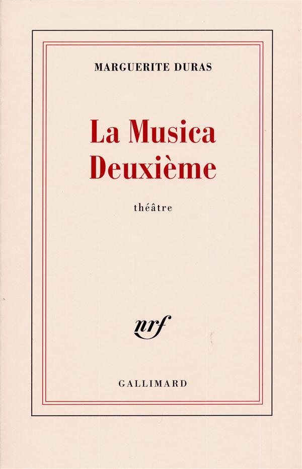 LA MUSICA DEUXIEME