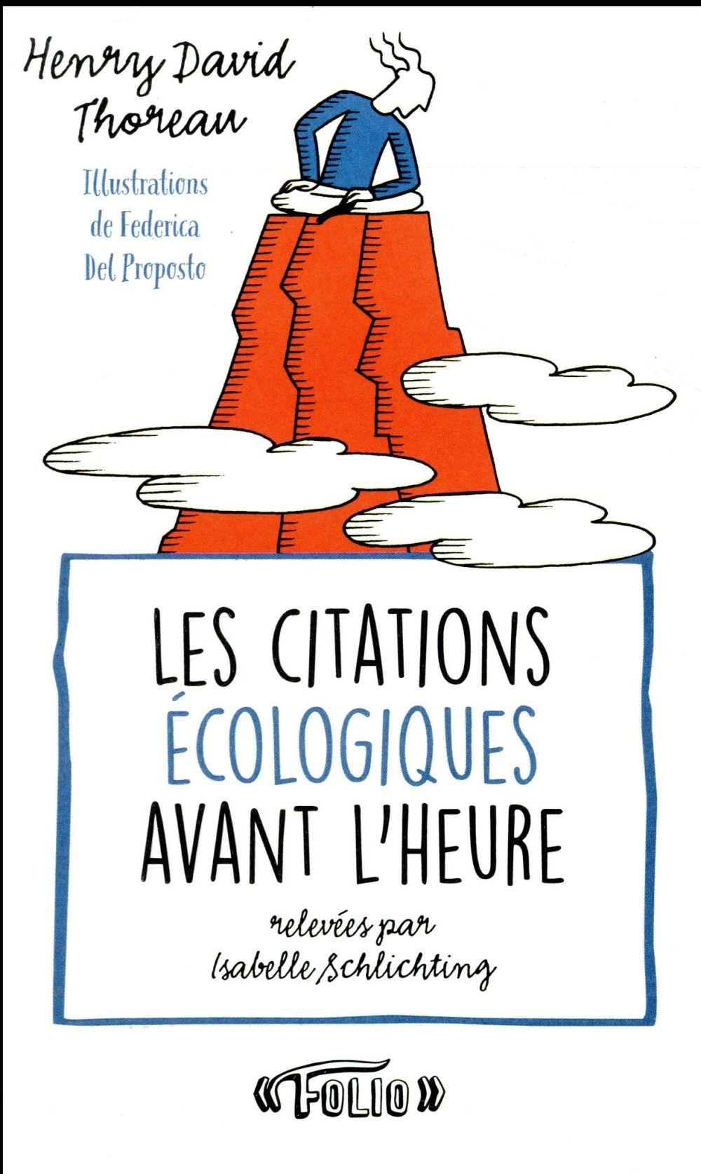 LES CITATIONS ECOLOGIQUES AVANT L'HEURE