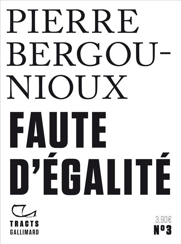 FAUTE D'EGALITE