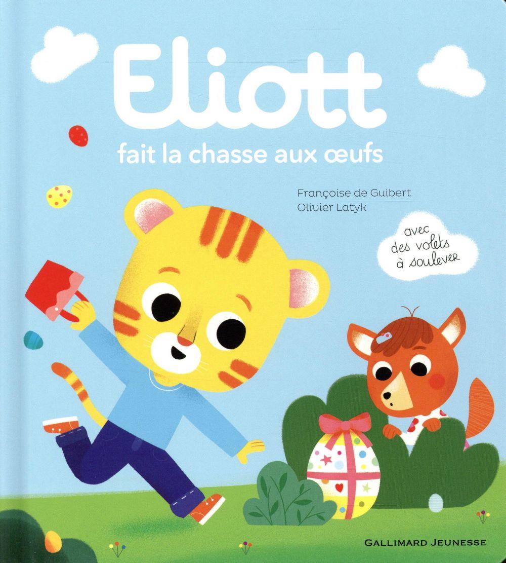 ELIOTT FAIT LA CHASSE AUX  OEUFS