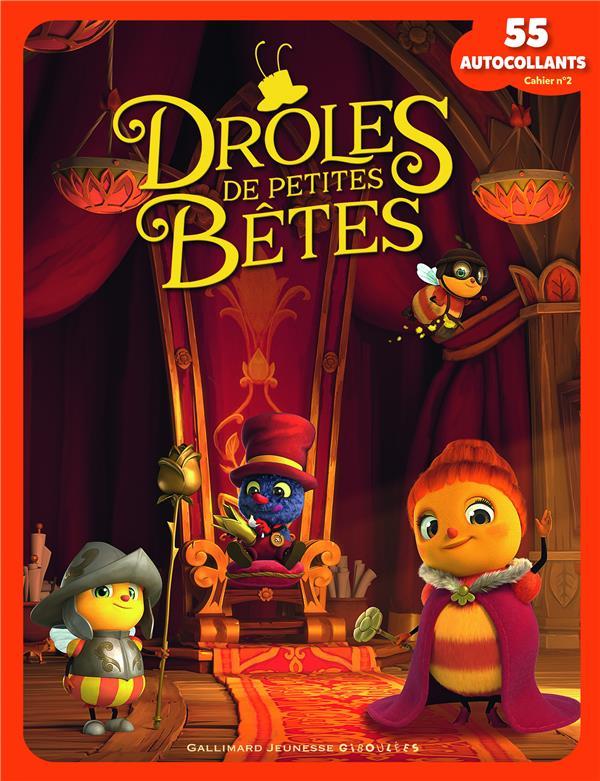 DROLES DE PETITES BETES - 55 AUTOCOLLANTS T2