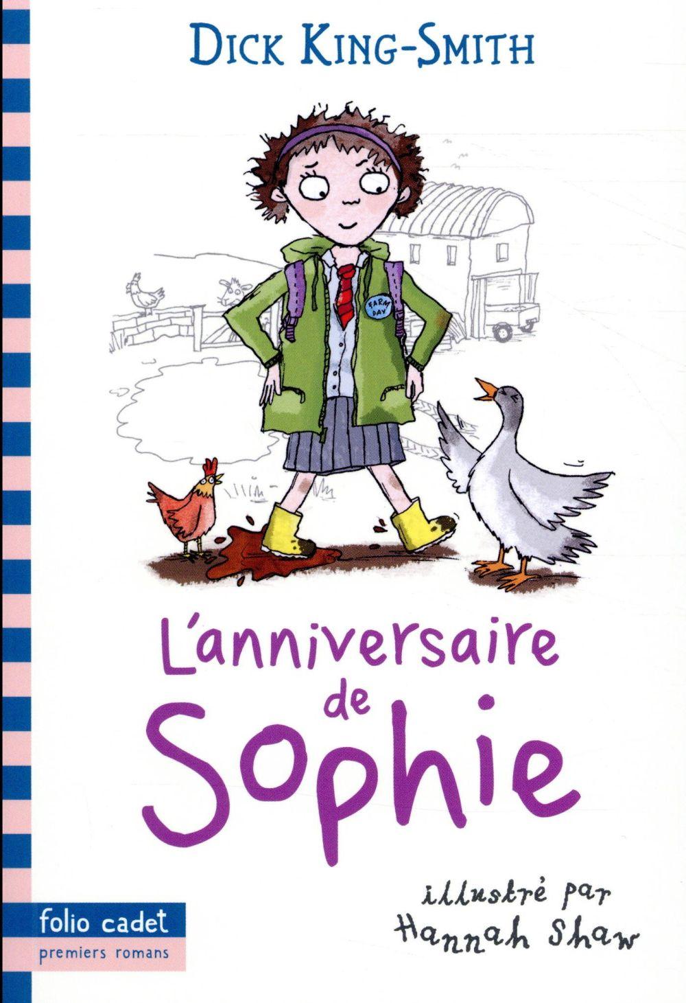 L'ANNIVERSAIRE DE SOPHIE