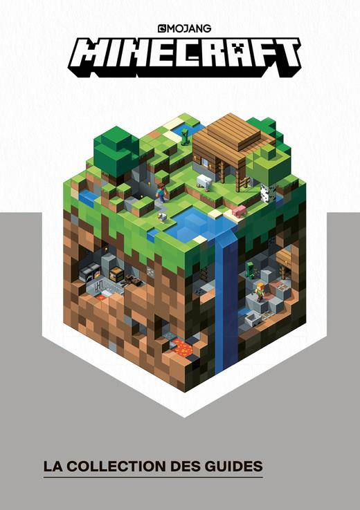 COFFRET MINECRAFT LA COLLECTION DES GUIDES OFFICIELS