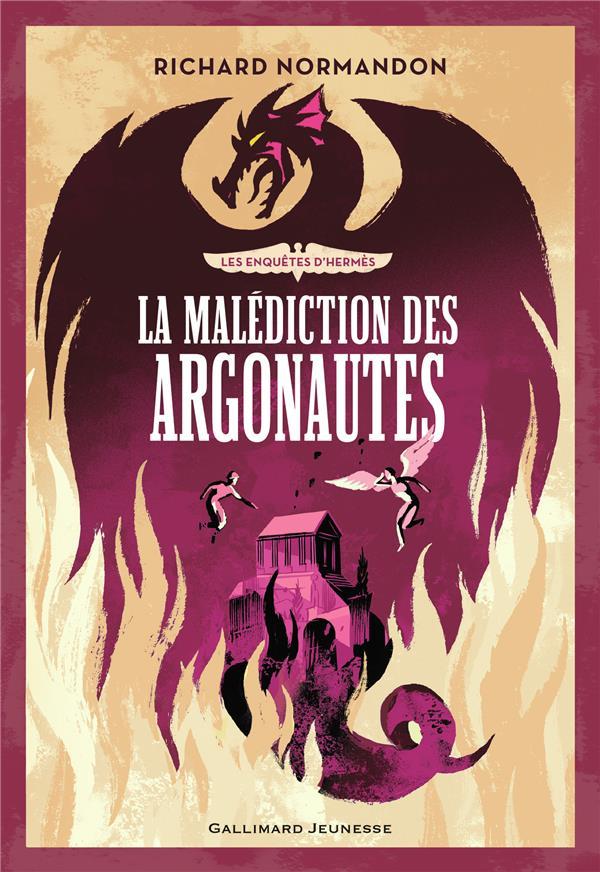 LES ENQUETES D'HERMES, 3 : LA MALEDICTION DES ARGONAUTES