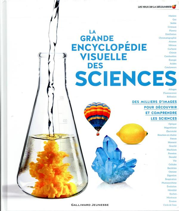 LA GRANDE ENCYCLOPEDIE VISUELLE DES SCIENCES