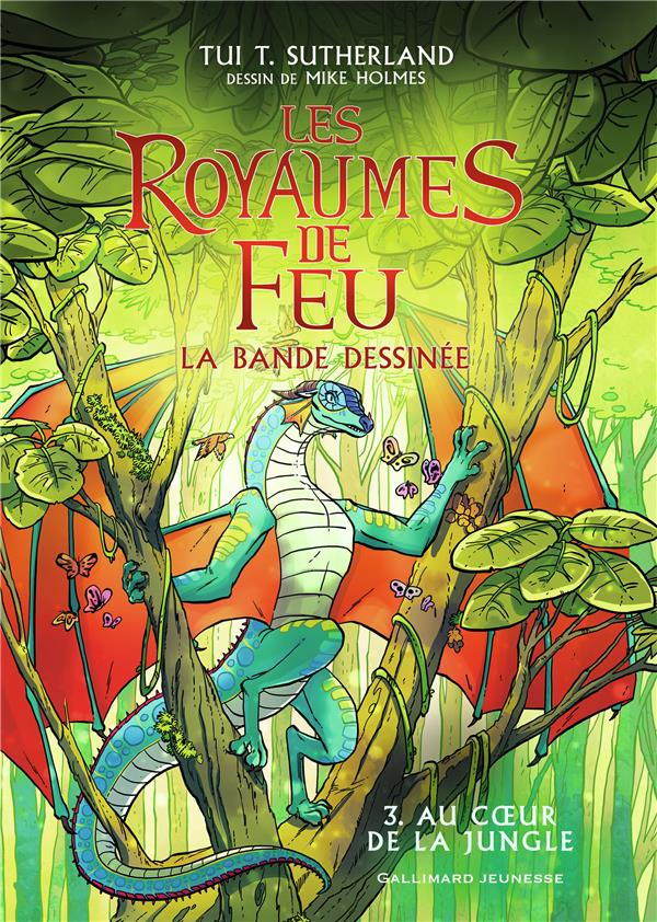 BANDE DESSINEE : LES ROYAUMES DE FEU, 3 - AU COEUR DE LA JUNGLE