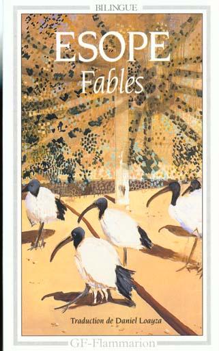 FABLES D'ESOPE - - BILINGUE GREC-FRANCAIS