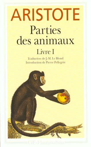 PARTIES DES ANIMAUX, LIVRE 1