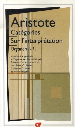 CATEGORIES - SUR L'INTERPRETATION