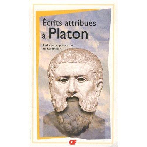 ECRITS ATTRIBUES A PLATON