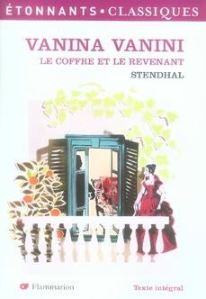VANINA VANINI - LE COFFRE ET LE REVENANT