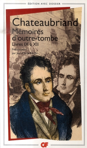 MEMOIRES D'OUTRE-TOMBE LIVRES 9-12