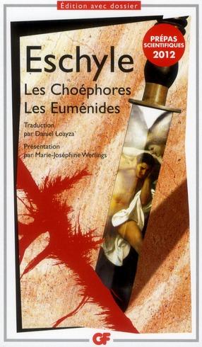 LES CHOEPHORES-LES EUMENIDES