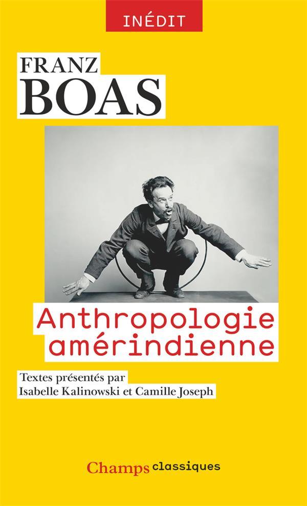 ANTHROPOLOGIE AMERINDIENNE