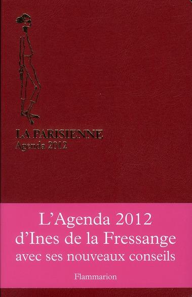 AGENDA LA PARISIENNE 2012