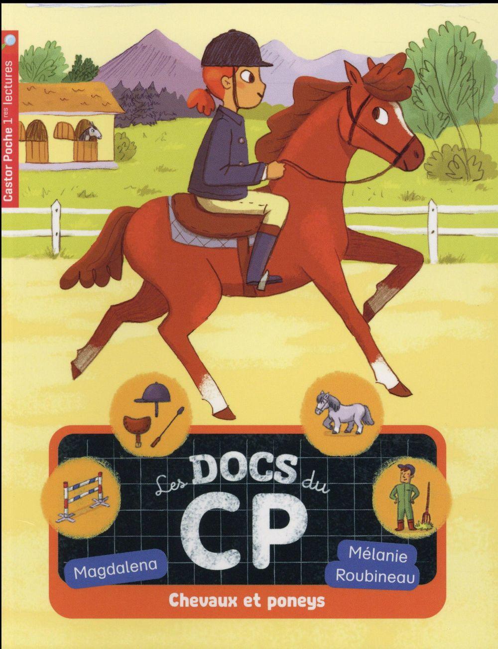 LES DOCS DU CP T5 - CHEVAUX ET PONEYS