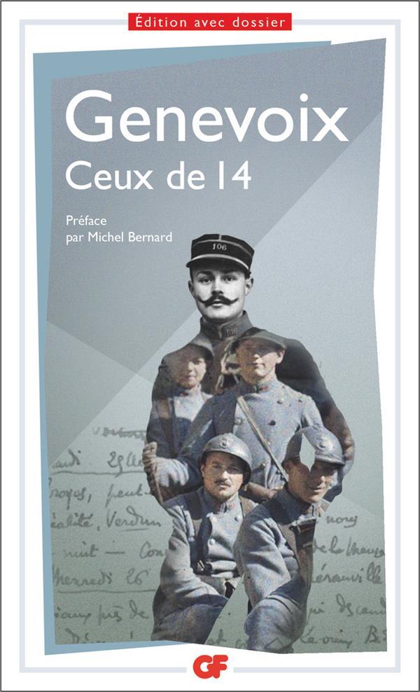 LITTERATURE ET CIVILISATION - CEUX DE 14