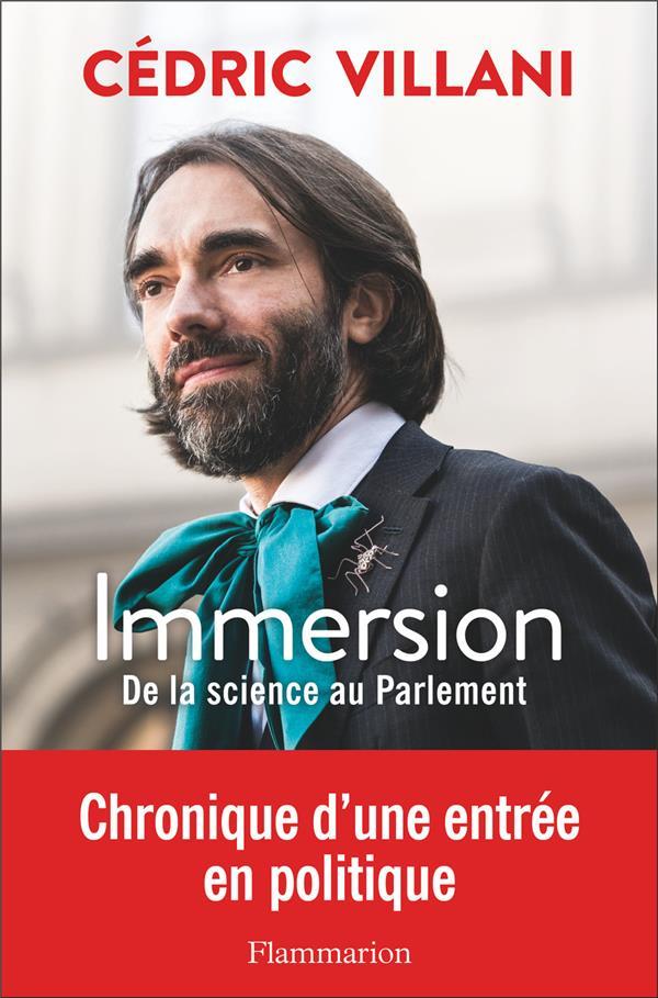 IMMERSION - DE LA SCIENCE AU PARLEMENT