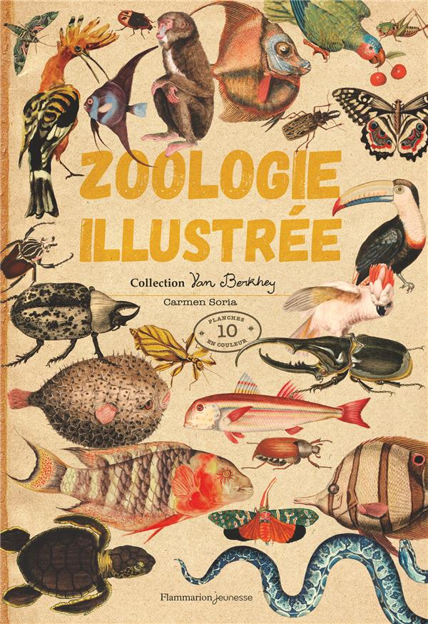 ZOOLOGIE ILLUSTREE - COLLECTION VAN BERKHEY