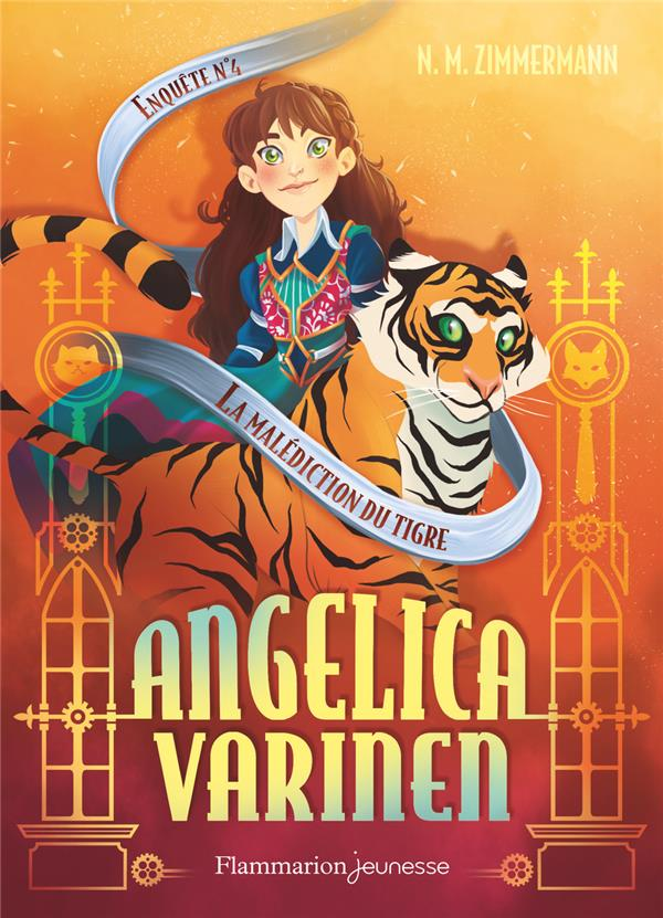 ANGELICA VARINEN - T04 - LA MALEDICTION DU TIGRE - ENQUETE N  4