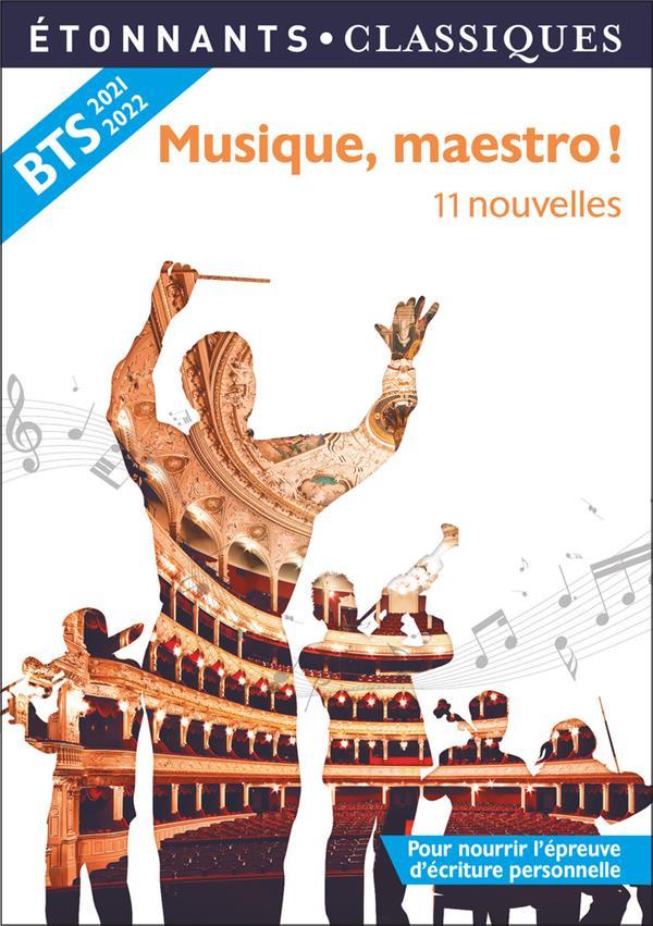 MUSIQUE, MAESTRO ! - 11 NOUVELLES