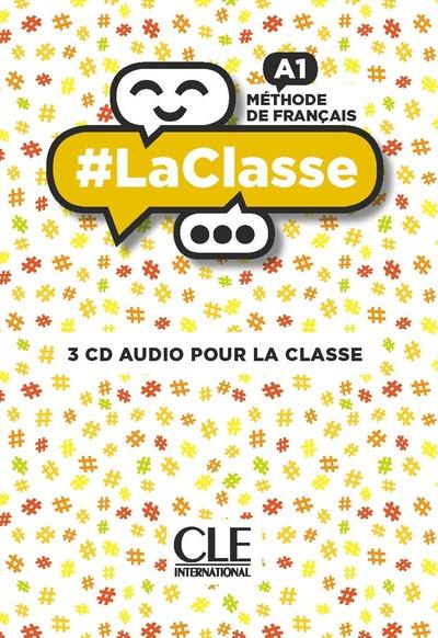 #LA CLASSE NIVEAU A1 CD AUDIO COLLECTIFS