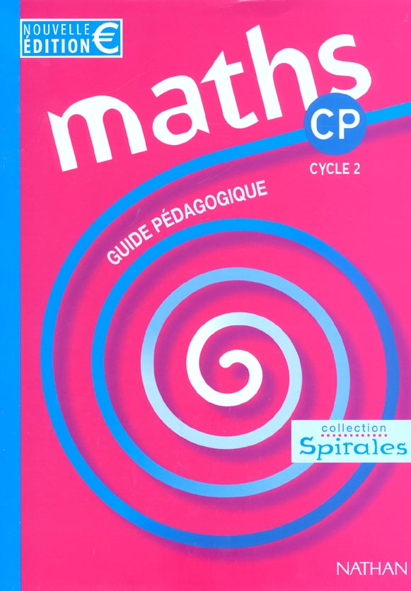 MATHS SPIRALES CP MAITRE EURO