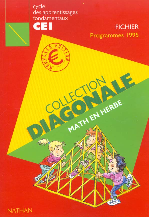 DIAGONALE MATHS CE1 FICH (EURO