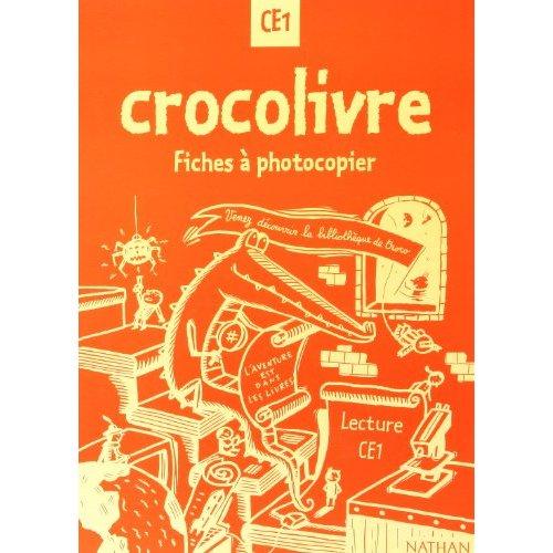 CROCOLIVRE CE1 PHOTOFICHES