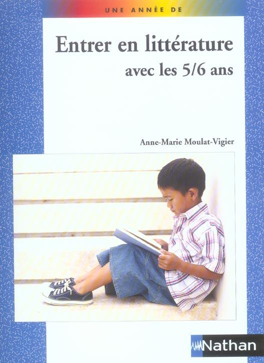UNE ANNEE DE LITTERATURE 5/6